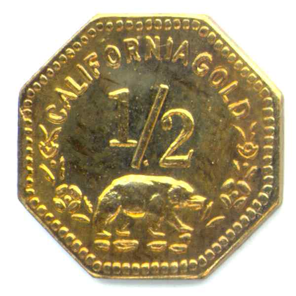 Bear 7 California Gold Tokens By Mike Locke